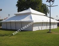Atmospheric Party Tent