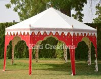 Efficient Party Tent