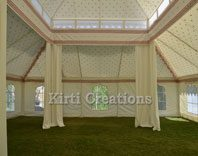 Traditional Mughal Tent